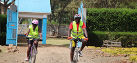 #PedalFforHealth = Pedal for dignity and inclusion